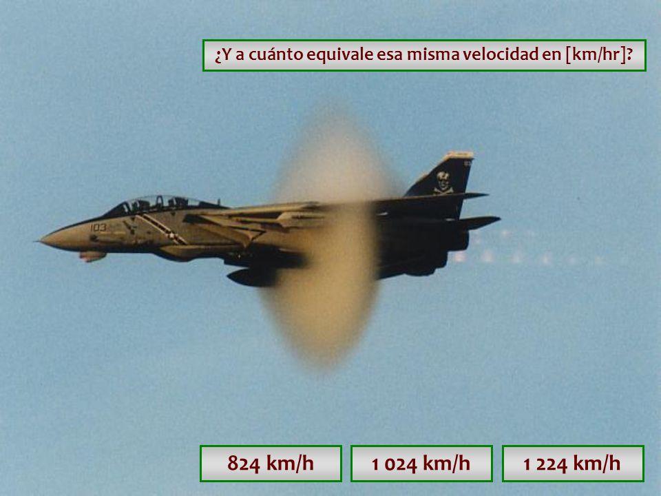 ¿Y a cuánto equivale esa misma velocidad en [km/hr]